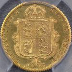 イギリス 1887年 ハーフソブリン金貨 ソブリン ビクトリア ヴィクトリア プルーフ コイン PCGS PR62CAM