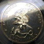 ドイツ プロシア 3マルク銀貨 プロイセン ナポレオン撃退 1913年 ヴィルヘルム2世 コイン PCGS PR62 プルーフ