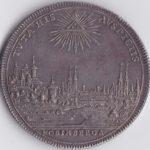 ドイツ ニュルンベルク 都市景観 ターラー銀貨 ターレル 1745年 未鑑定