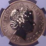 イギリス ビクトリア女王 没後100年 追悼記念 5ポンド金貨 エリザベス 2001年 NGC PF69 プルーフ 733枚