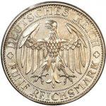 ドイツ ワイマール 5マルク銀貨 マイセン 1929年 コイン プルーフ PCGS PR63CAMEO