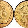 19世紀アメリカのハーフ イーグル5ドル金貨について